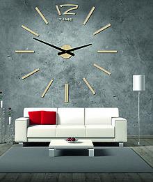Hodiny - Drevené nástenné hodiny z preglejky. Farbené moridlom / lakom /- Honeyx 12D003 - 9875403_