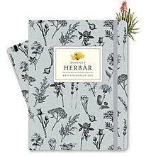 Knihy - Rodinný Herbár (Modrá) - 9876285_