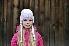 Detské čiapky - Ušianka - 9876321_