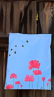 Nákupné tašky - Plátená taška- príroda - 9876299_