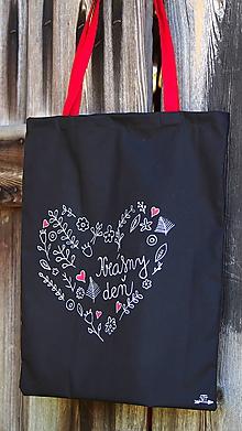 Nákupné tašky - Plátená taška- krásny deň - 9876329_