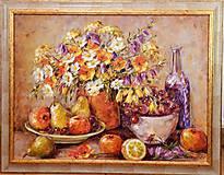 Obrazy - Veľké jesenné zátišie - 9874570_