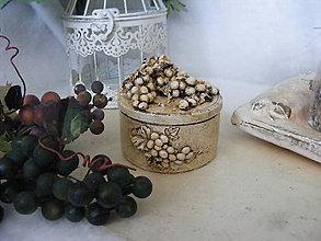 Krabičky - Vintage krabička ... - 9875600_