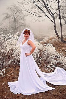 Šaty - svadobné šaty - 9874451_
