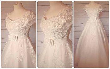 Šaty - svadobné šaty - 9874453_