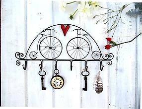 Iné - Veľký vešiak s bicyklami - 9876806_