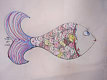 Veľké tašky - ryby - 9875444_