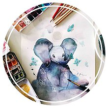 Kurzy - WORKSHOP akvarelovej maľby, ZVIERATKÁ (rodičia + deti) - 9876350_