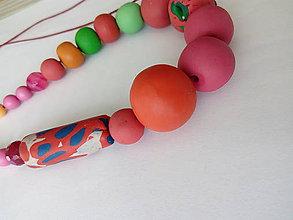 Náhrdelníky - In red - 9877691_