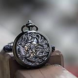 - Mechanické vreckové hodinky s krúžkovanou reťazou (38) - 9879404_