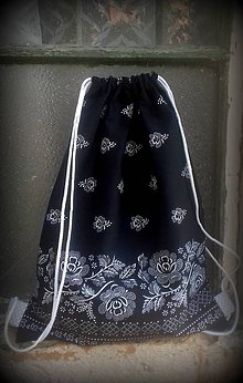 Batohy - vrecko na chrbát - čierne - 9880190_