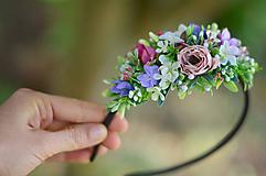 Ozdoby do vlasov - Láska v kvetoch - 9878948_