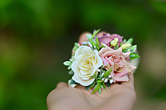 Náramky - Poézia o ruži - 9879116_