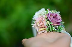 Náramky - Poézia o ruži - 9879117_