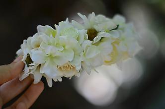 Ozdoby do vlasov - Svadobné šťastie - 9879186_