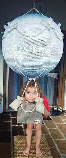Hračky - Obrovský balón - háčkovaný - 9878528_