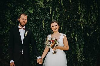 Šaty - svadobné šaty pre sl.V - 9878720_