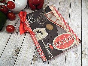 Papiernictvo - Rodinné recepty - receptár - 9878370_