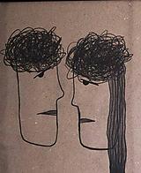 Kresby - °vzťah pt.2° /kresba uhlíkom/ - 9878906_