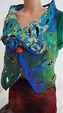 Iné oblečenie - vesta Přiznej konečně barvu! - 9879956_