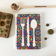 Papiernictvo - Folk pestrofarebný receptár - 9880052_