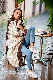 Úžitkový textil - Veľká hrejivá deka - 9879767_