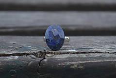 Prstene - Zafír prsteň Ag 925 - 9878331_