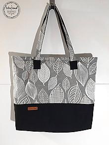 Kabelky - Plátená taška veľká - 9880233_