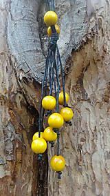 Náhrdelníky - 8+2 v žltej - 9878694_