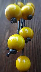 Náhrdelníky - 8+2 v žltej - 9878695_