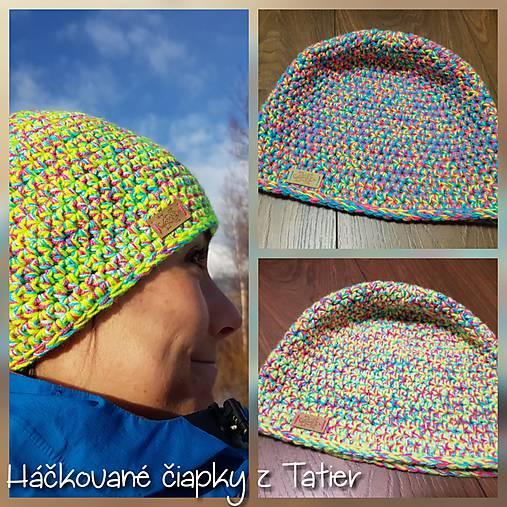 9394cbc81 Melir háčkovaná čiapka / TATRY-handmade - SAShE.sk - Handmade Čiapky