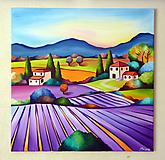 Obrazy - Lavender field - 9879473_
