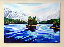 Obrazy - Maligne Lake - 9879512_