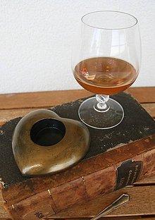 Svietidlá a sviečky - Svietnik Pre pána s whisky - 9881471_