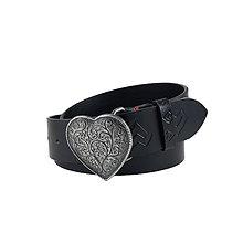 Opasky - Dámsky kožený opasok do riflí Lover - 9881260_