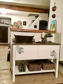 Nábytok - Stolik pod umyvadlo