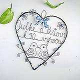 Dekorácie - veľké srdce k výročiu - 9880691_