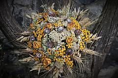 Dekorácie - Sušená kytica - 9881800_