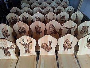 Nábytok - drevené stoličky - 9881270_