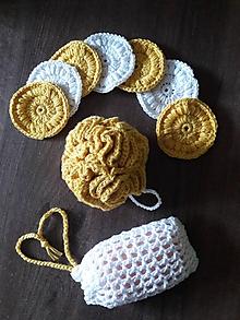 Úžitkový textil - Zero waste alebo ekologicky v kúpeľni - 9882226_