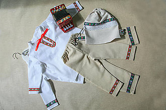 Detské oblečenie - Kroj komplet - 9880756_