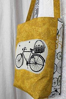 Veľké tašky - Taška Retro Bicykel - 9881157_