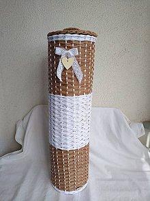 Košíky - Zasobnik na wc papier - 9881136_