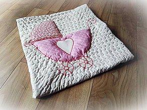 Textil - Personalizovaná deka pre dievčatko IT´S A GIRL - 9882610_