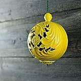 Dekorácie - Aroma ozdoba velká žlutá - 9883227_