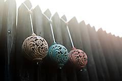 Dekorácie - Aroma ozdoba velká ecru - 9883267_
