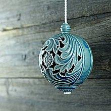 Dekorácie - Aroma ozdoba velká modrá - 9883203_