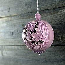 Dekorácie - Aroma ozdoba velká lila - 9883219_