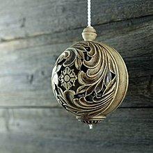Dekorácie - Aroma ozdoba velká patina burel - 9883247_