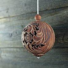 Dekorácie - Aroma ozdoba velká patina železo - 9883272_
